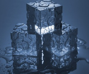 Portal 2 Companion Cube Ice Tray – Don't worry these ice cubes don't speak.