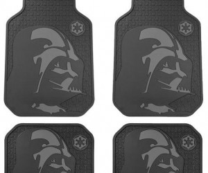 Darth Vader floor mats – Come to the Dark Side  - we've got floor mats.