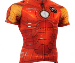 Iron Man Cycling Jersey – If Tony Stark was training for the Tour de France this is the jersey he'd be wearing.