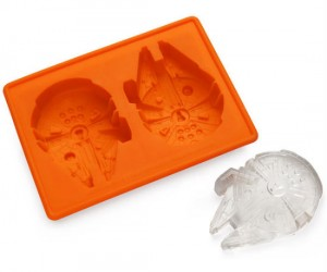 Millennium Falcon Ice Tray – Add a little warp speed to your beverages.