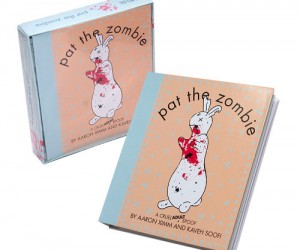 "A hilarious zombie spoof on the classic ""Pat The Bunny"" book."