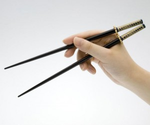 Samurai Sword Chopsticks – Every ninja knows not to fight on an empty stomach!