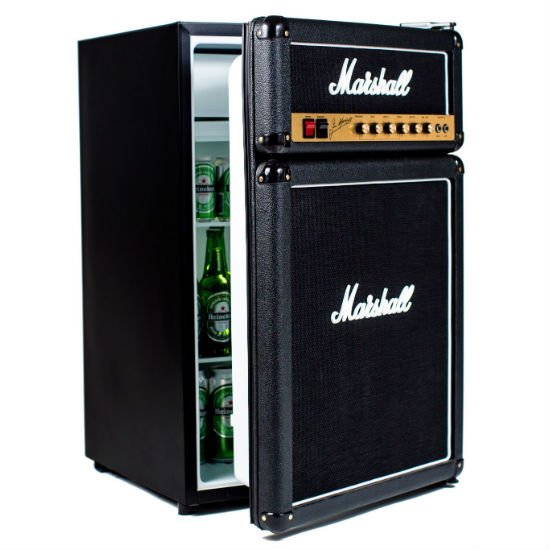 Marshall Amp Mini Fridge – It holds enough beer to satisfy the whole ...