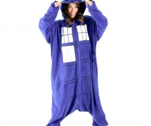 Why would you want to be in the TARDIS when you can be the TARDIS!
