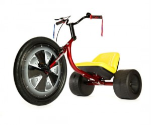 Adult Size Big Wheel Trike – An oversized trike for the oversized kid.