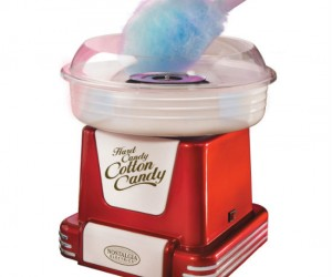 Now you can make that old timey carnival cotton candy right in your own home!