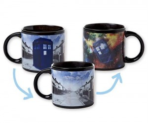 Not a lot of people know this, but the TARDIS is fueled by coffee.