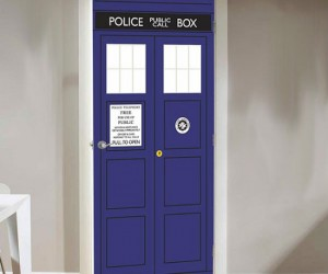 Doctor Who TARDIS Door Decal