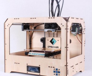 3D Printing is the future! Here's a great quality home based starter printer for anyone who wants to get their feet wet in 3D printing.