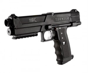 .68 Caliber Paintball Pistol – There's nothing like bringing a gun to a paintball fight.