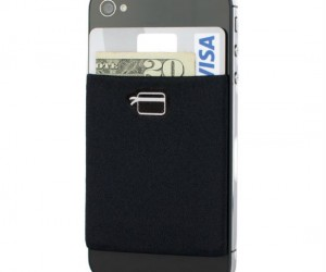 Turn almost any smartphone into a wallet with this stick on credit card sleeve!