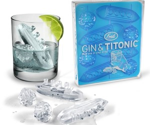 Titanic Ice Cube Tray – Don't worry this iceberg won't sink your ship.