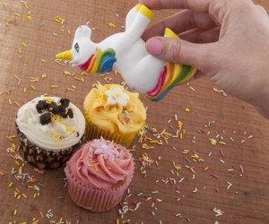 Everyone knows that unicorns fart glitter and poop rainbows, but did you know that sprinkles also come from a unicorn's butt?