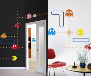 Who knew Pac Man made just a great wall decal! Waka waka waka waka.