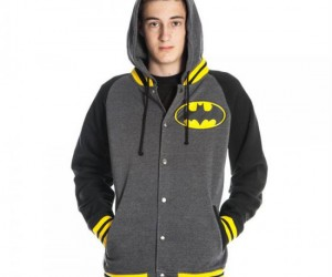 Batman Letterman Hoodie – Gotham High approved.