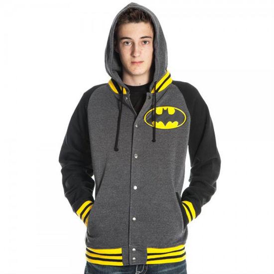 batman letterman hoodie
