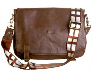 Leather Chewbacca Messenger Bag – Just like Chewbacca this messenger bag will always be there for you.