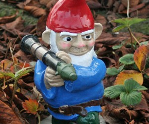 Combat Garden Gnome – Not your Grandmother's garden gnome
