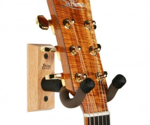 Hardwood Guitar Hanger – Hang your guitar like the pros!