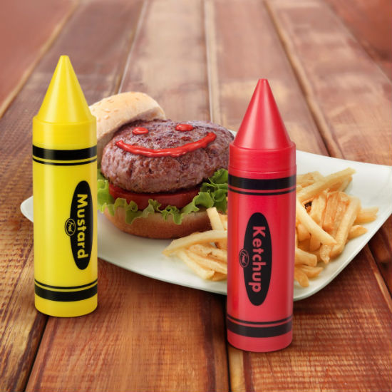 Ketchup And Mustard Crayons Shut Up And Take My Money : ketchup and mustard crayons from shutupandtakemymoney.com size 550 x 550 jpeg 65kB