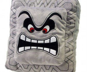Thwomp Pillow – Great for snuggling just don't walk directly underneath it.