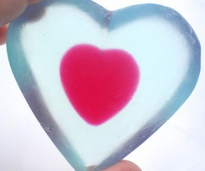 Zelda Heart Soap –  Just make sure you have extra because once you run out well… you know what happens.