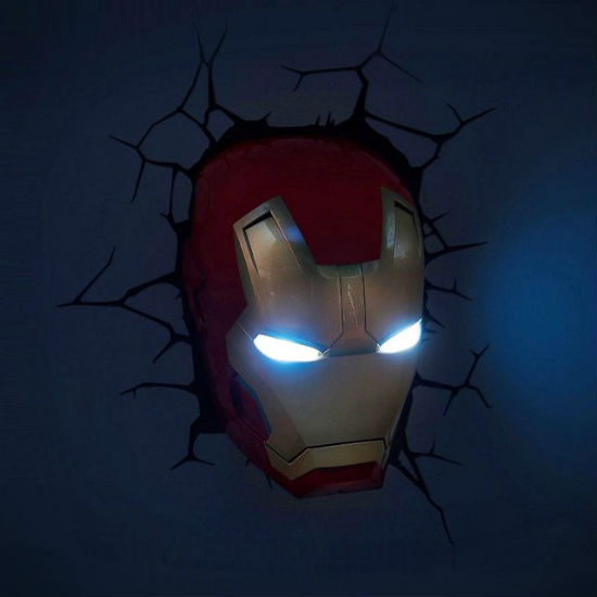 3D Iron Man Wall Light | Shut Up And Take My Money
