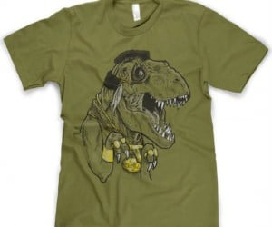Mr. T-Rex Shirt - I pity the omnivore who doesn't buy this shirt.
