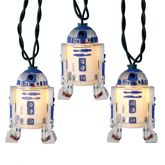 R2D2 christmas lights