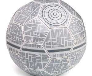 Death Star Soccer Ball – The official soccer ball of the Galactic Empire.