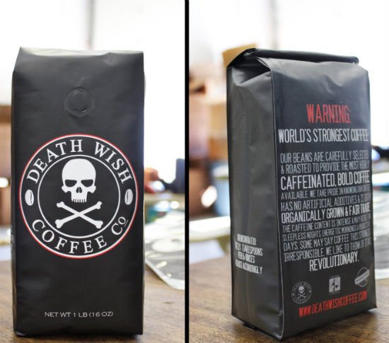 death wish worlds strongest coffee