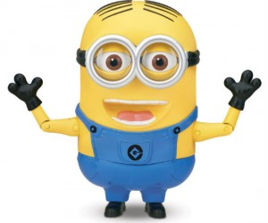 Despicable Me Minion Dave Talking Action Figure – With over 55 Minion says plus banana mode!
