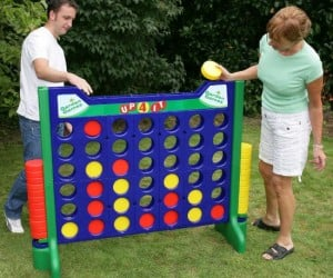 Giant Connect 4 – You're no longer little so maybe your favorite game needs to grow up too!