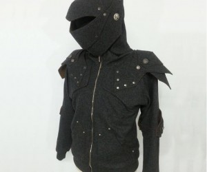 Now you can be the original Dark Knight with this Knight's Armor Hoodie!