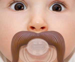 Are you as tired of your baby's lack of facial hair as I am? Well get ready my friends, because the days of mustache-less babies are NO MORE!