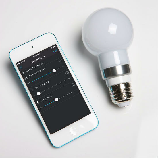 Smartphone Controlled Light Bulb Shut Up And Take My Money