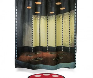 Star Trek Transporter Bath Man & Shower Curtain Set – Let's just hope it's not a real transporter…