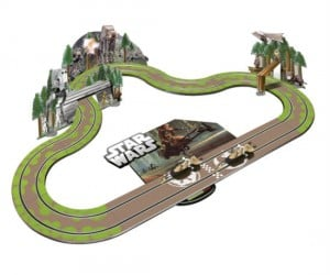 Star Wars Slot Car Set – Relive the high flying speeder bike races through Endor with your very own slot car set.
