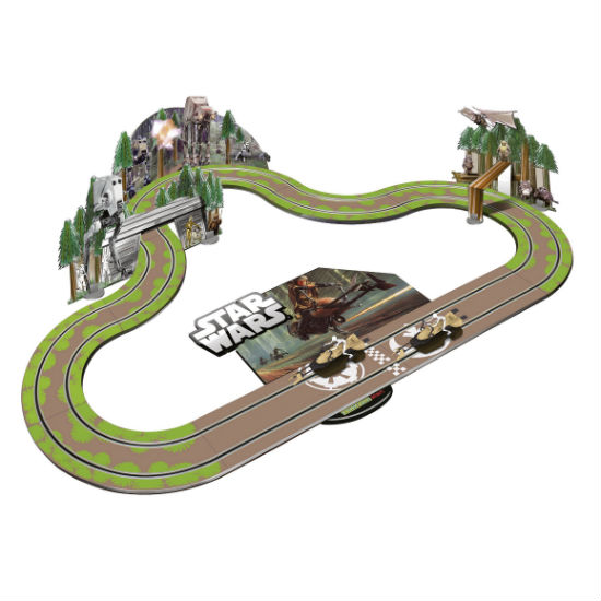 star wars slot car set