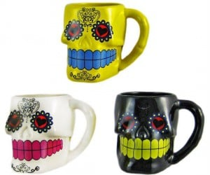 The perfect mug for your Day Of The Dead celebrations!