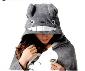 Totoro Cloak – Leave it to Totoro to always keep you covered!