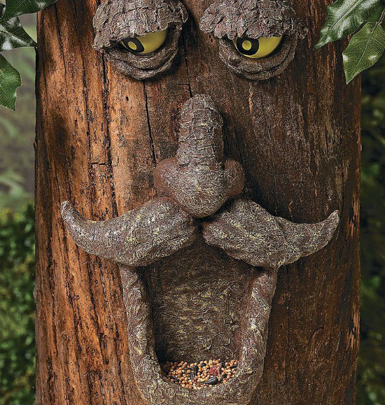 Tree Face Bird Feeder Shut Up And Take My Money