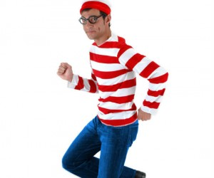 Where's Waldo Costume – Now it's your turn to don the red and white stripes and try to stay out of sight.