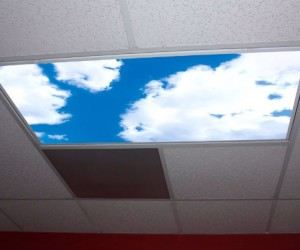 It's the next best thing to having a skylight!