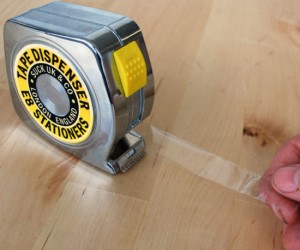 Just don't put it in the same drawer as your real tape measure, I don't think sticky tape is as accurate at measuring.