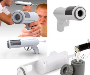 Take a shot with this gun… literally.