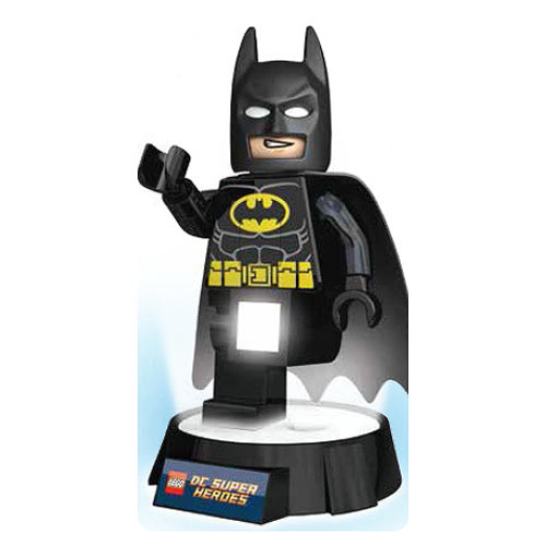 Batman lego torch and night light leave it up to this dark knight