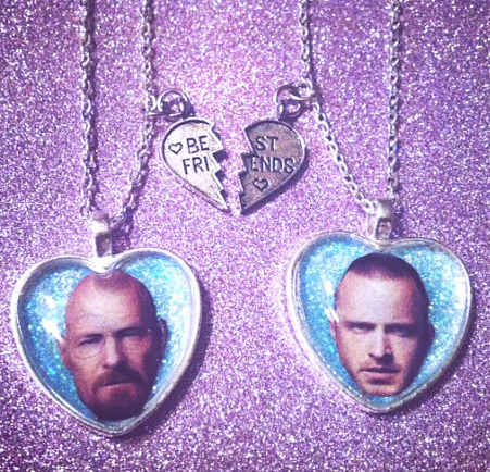 breaking bad friendship necklaces