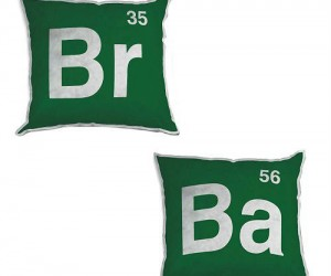 Breaking Bad Element Pillows – Hand crafted by Vince Gilligan.