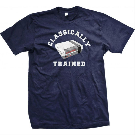 classically trained tee